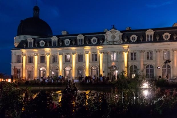 La nuit est tombée sur le château de Valençay pour clore les Championnats. © Elodie Expert