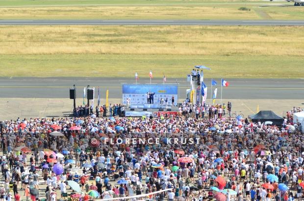 Plus de 100 000 visiteurs ont été accueillis sur l'aéroport de Châteauroux pendant les dix jours de compétition. © Florence Krust