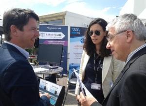 Pierre Jouniaux, président de Safety Line, est interviewé par Le Monde. © Ozelys