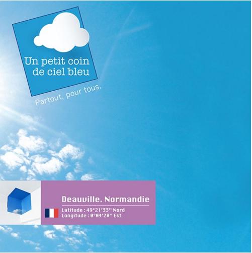 Coin ciel bleu Deauville