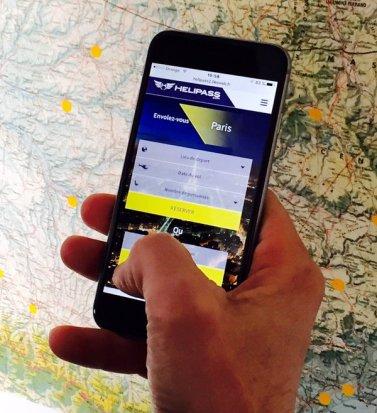 En une seule appli, Helipass concentre toutes les offres de vols touristiques en hélicoptère du monde.